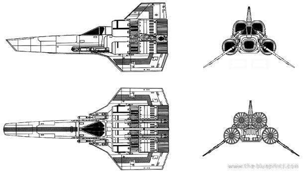 Blueprints Gt Science Fiction Gt Battlestar Galactica