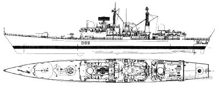 HMS York D98 (Destroyer) (1991)