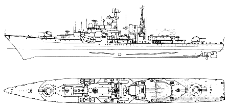 USSR Project 956 Sovremenny-class Destroyer