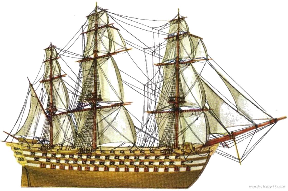 Blueprints Gt Ships Gt Ships France Gt Le Valmy 1847