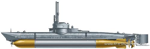 DKM Biber Midget Submarine
