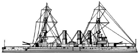 IJN Adzuma (Armored Cruiser)