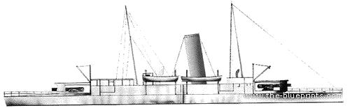 IJN Tsukushi (Armored Cruiser) (1890)