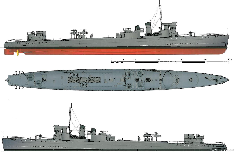 Design Blueprints Online Blueprints Gt Ships Gt Ships Uk Gt Hms Campbeltown I42