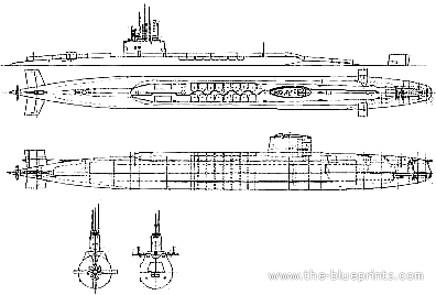HMS Resolution S22 (Submarine) (1968)