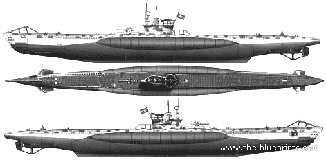DKM U-Boat Typ VII-B