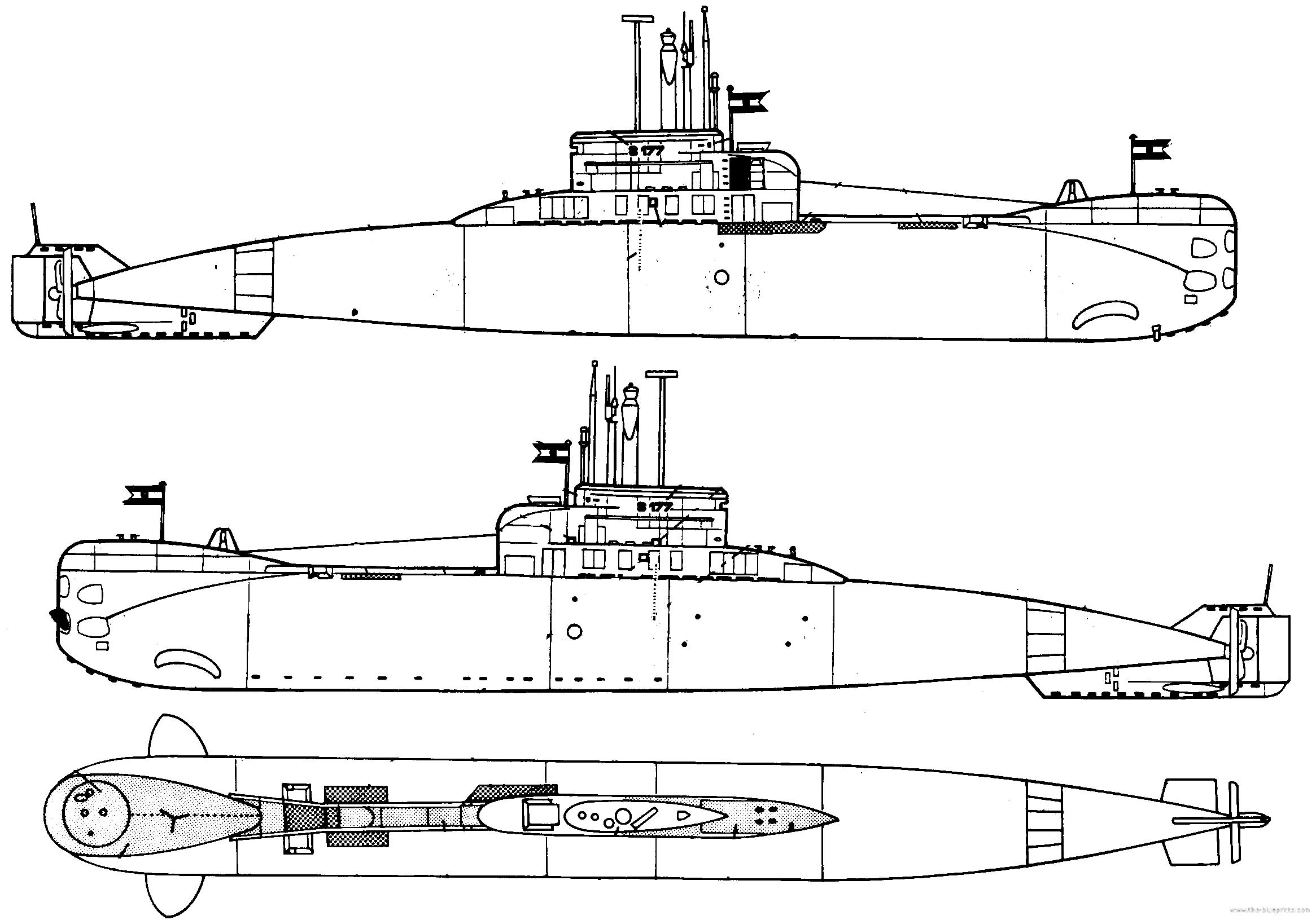 Blueprints > Ships > Submarines (Germany) > DKM U-Boat ...