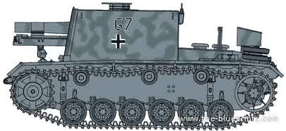 15cm Sturm-Infanteriegeschutz 33 Ausf. Pz III