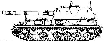 2S3 Akatsiya M1973 152mm SPG