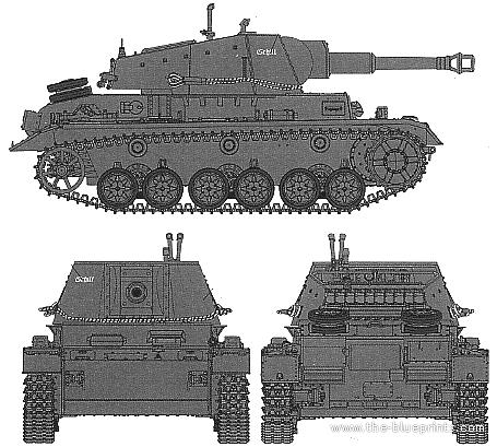 10.5cm LeFh18 auf Geschutzwagen IVb (SdKfz 165/1)