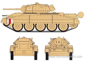 A15 Crusader Mk.V Cruiser tank Mk VI