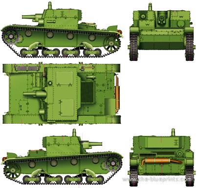Blueprints Gt Tanks Gt Tanks A Gt At 1 Spg