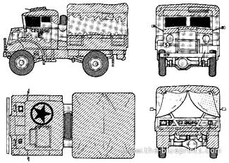 CMP Chevrolet 15CWT