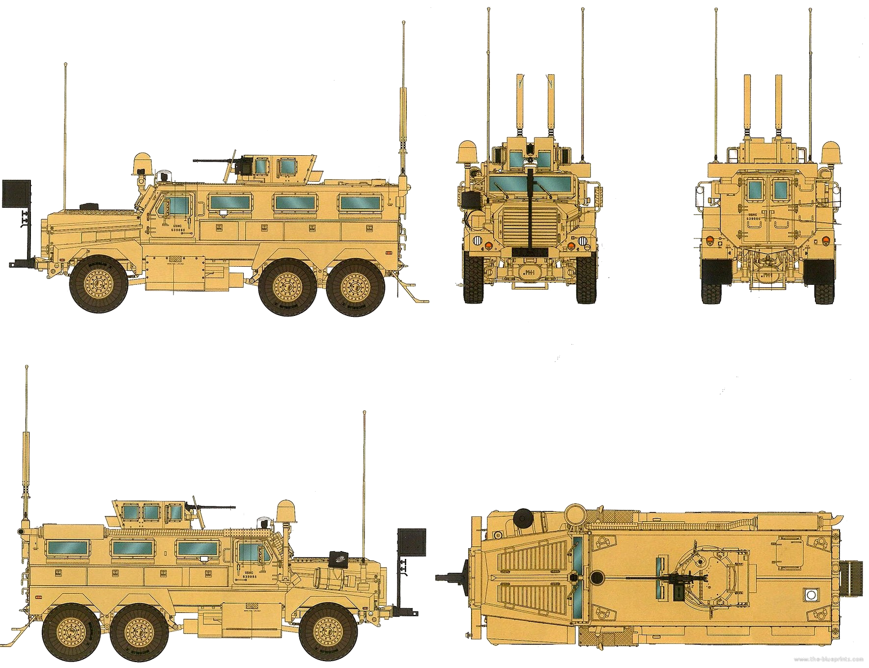 Military Tanks For Sale >> Blueprints > Tanks > Tanks C > Cougar 6x6 MRAP