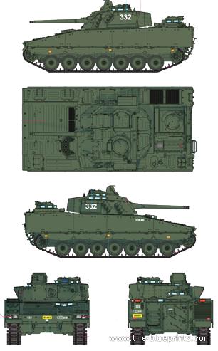 CV90-30 Mk.I IFV