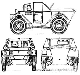 Daimler Dingo Mk.I Armoured Car
