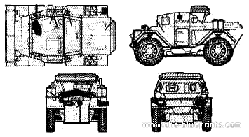 Daimler Dingo Mk.II Armoured Car