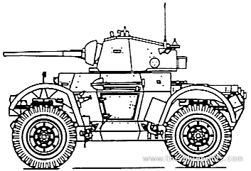 Daimler Mk.I Armoured Car
