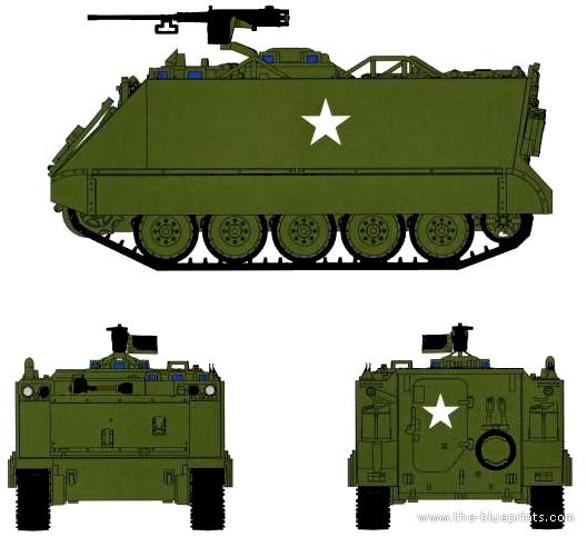 M113a1 For Sale >> Blueprints > Tanks > Tanks M > M113A1