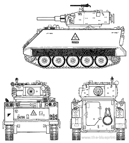 M113a1 For Sale >> Blueprints > Tanks > Tanks M > M113A1 Fire Support