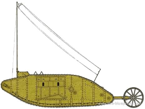 Mark I Radio Tank (Signal Tank)
