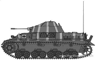 Mk.103 Zwilling Flakpanzer IV Kugelblitz