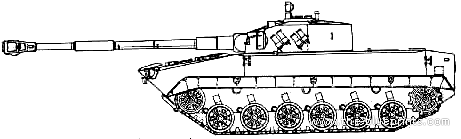 Object 685 Light Tank