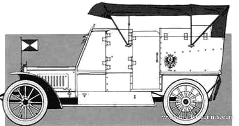 Opel Kriegs Wagen (1906)