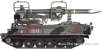 SA-6 Guideline AA Missile