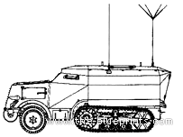 Unic P107 Leichter Schutzenpanzer