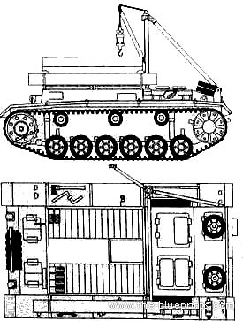 Bergepanzer III Ausf.J