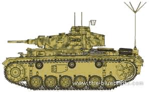 Pz.Bef.Wg.III Panzer III Command Tank Ausf.J