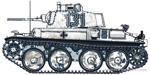Pz.Kpfw 38(t) Ausf. F