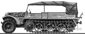 Sd.Kfz. 10 1t Half Truck