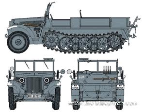 Sd.Kfz. 10 Ausf.A (1940)