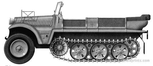 Sd.Kfz. 10 (Demag D7)
