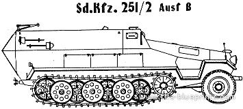 Sd. Kfz. 251-2 Ausf B