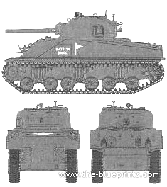 M4 Sherman Composite Hull PTO