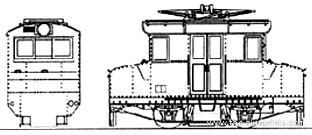 De 61 Mie Kotsu Electric Locomotive