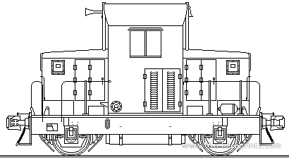 EMD Model 40 Heavy Frame