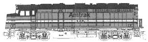 F40PH Amtrak No.346