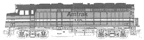 F40PH Amtrak No.379