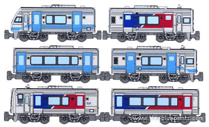 JNR DMU Series (2000)