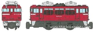 JNR ED75-700