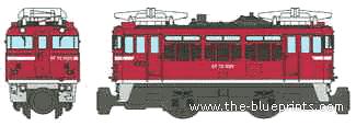 JNR ED75