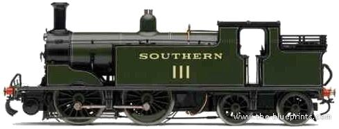 SR 0-4-4 Class M7 No. III