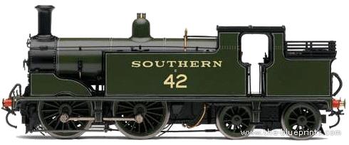 SR 0-4-4T Class M7