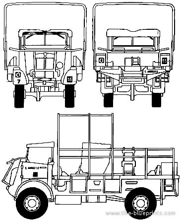 Bedford QL + 6 Pdr At Gun