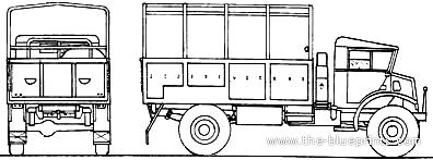 Chevrolet CMP C60L 3-ton 4x4 (1943)