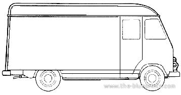 Chevrolet FC Panel Van 3742 (1954)